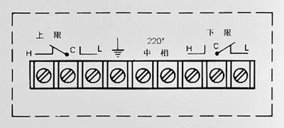 矩形膜盒壓力表接線端子圖