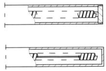 双金属温度计测量端形式
