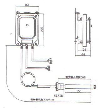 变压器温度指示控制器结构与原理